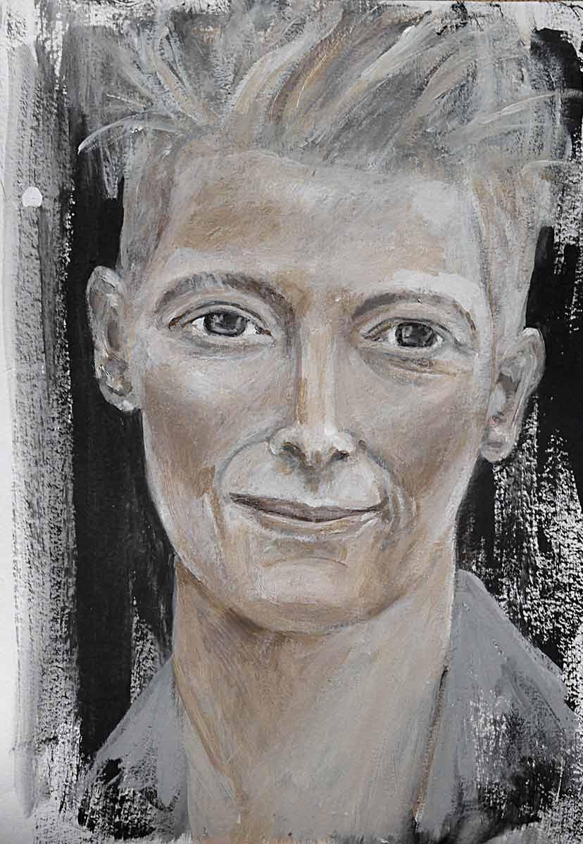 Tilda Swinton Portrait